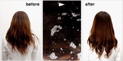 高濃度炭酸泉バブ 炭酸トリートメントで健やかな毛髪に